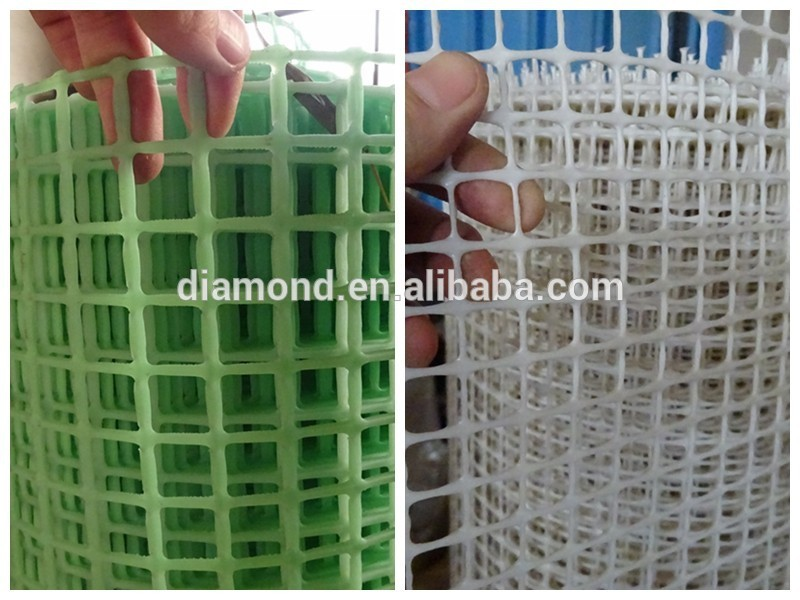 Dark blue small hole extruded hdpe plastic square mesh