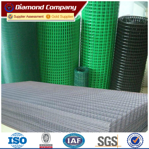 Galvanized & iron & 304 stainless steel welded wire mesh panel