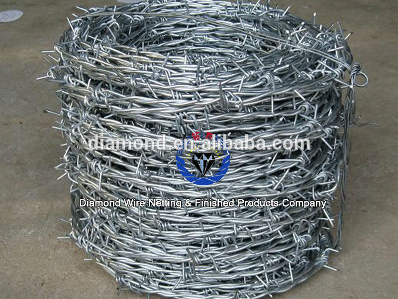 Barbed Wire Length Per Roll Barbed Wire Barbed Wire