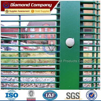 ISO Certificated Galvanized 358 Secuity Prison Fence price