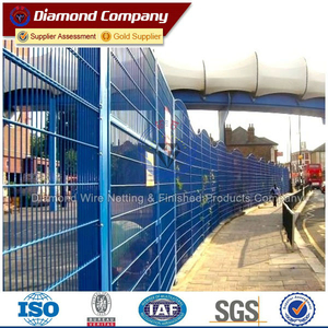 cheap mesh security fence panels/ decorative garden fence panel