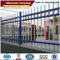 Zinc steel guardrail