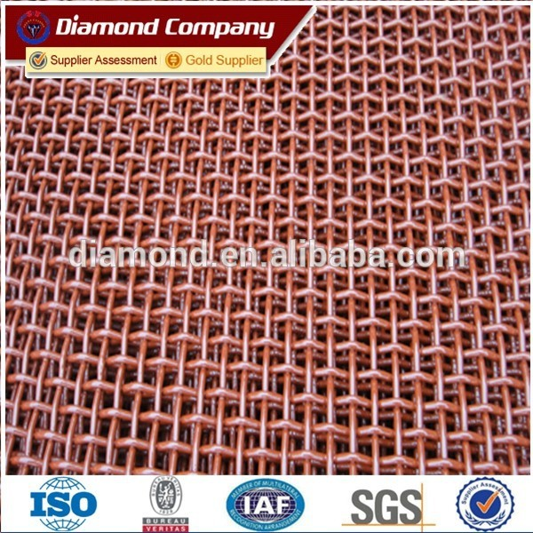 high quality products Stone Crusher Vibrating Screen Mesh/65Mn crimped wire mesh / crimped wire mesh