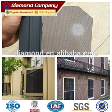 Manufacture powder coated black stainless steel security window screen