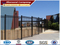 steel picket fence,square steel fence posts,designs for steel fence