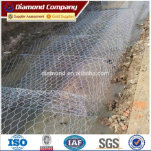 factory supply galvanized square welded gabion box/gabion box / gabion basket/ galvanized gabion mesh