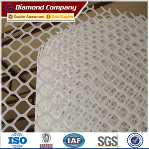 Rigid Plastic Plain Netting Chicken Wire Mesh