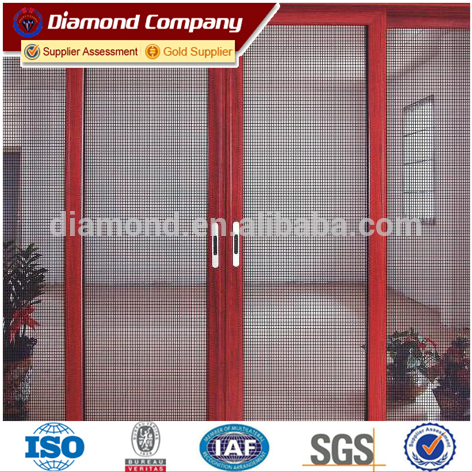 SGS/CE Certificated Glavanized Steel Security Bulletproof Window Screen Wire Mesh