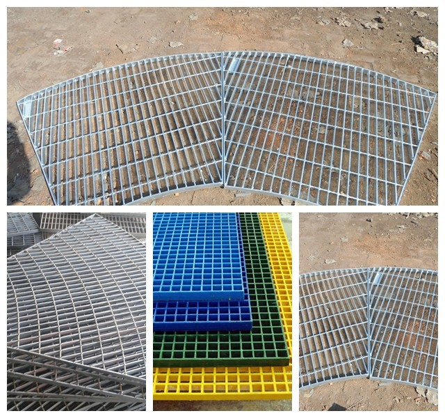Manufature heavy galvanized steel grating