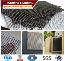 0.8mm Premium 316 grade crimsafe window security screen