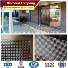 Anti-theft stainless steel wire mesh/security screen wire mesh