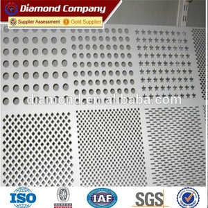 Hot sale mine sieving perforated sheet/ perforted mesh