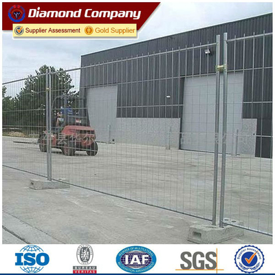 Construction site fencing