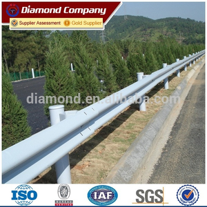 Sale Spraying Plastics W beam guardrail for road