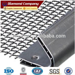 high tensile mining screen mesh / vibrating screen mesh / seive wire mesh