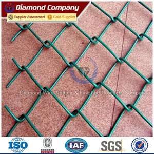 Hot Galvanized Chain Link Wire Net For Playground Wall Metal Wire Mesh