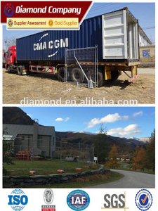 Customisable temporary fence for constrution sites