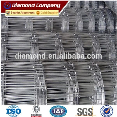 galvanized steel deer fence/sheep mesh price/grassland fence