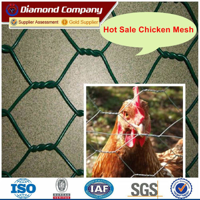 HIGH QUALITY PVC Chicken Mesh / PVC hexagonal chicken mesh