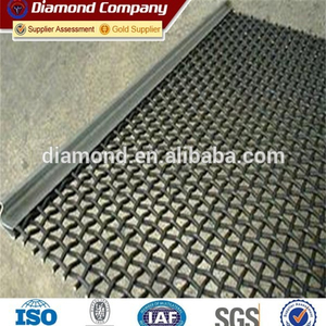65Mn Quarry screen mesh / Screen mesh with overhooks