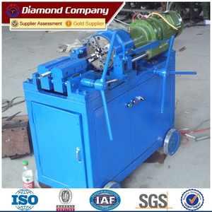 thread rolling machine for rebar coupler