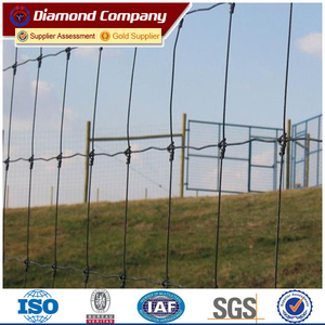 hot dipped galvanized fixed knot iron fence/farm fence/deer fence