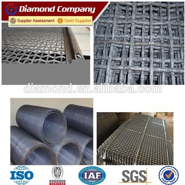 high tensile mine sieving screen mesh / vibrator screen sieve screen mesh /ore crusher screen mesh