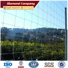 bottom price electric galvanized field fence