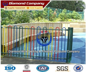 Super beautiful ornamental wrought iron fence/cheap wrought iron fence panels for sale