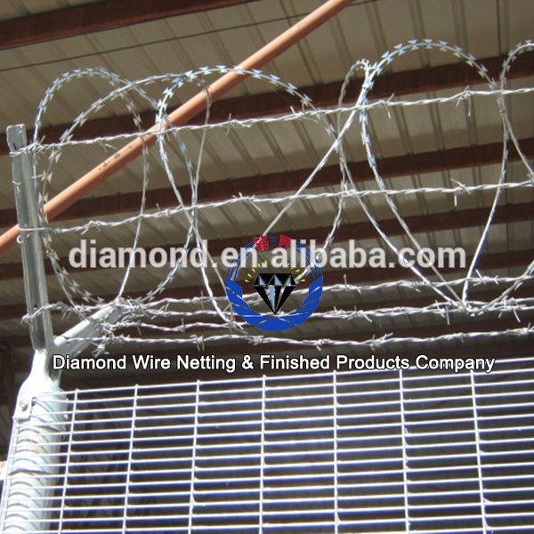 358 high security fencing/prison wire fence/anti climb fencing