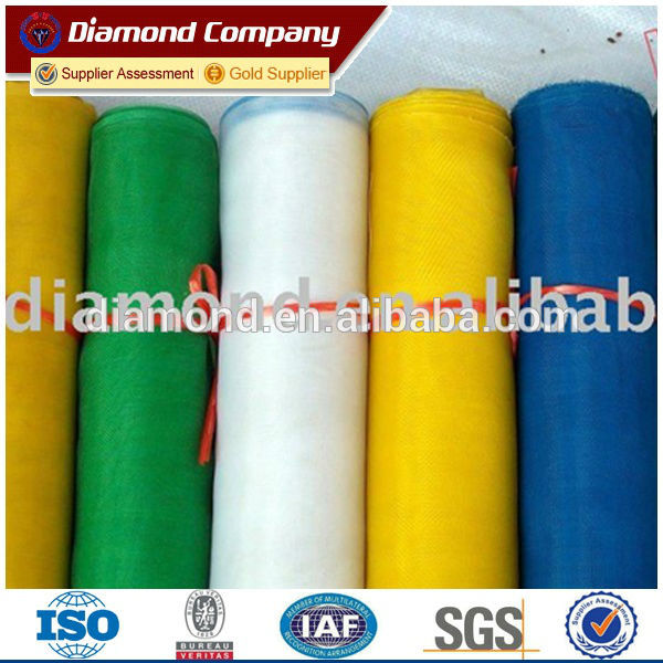 Colored window screen netting/bulk mosquito netting