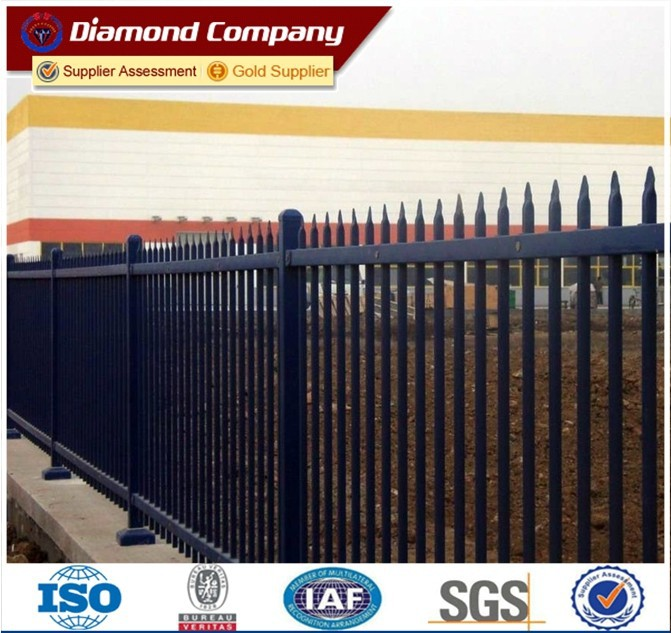 designs for steel fence,galvanized steel fence,tubular steel fence