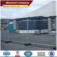 Portable temporary welded fence /welded galvanized temporary fence panel.