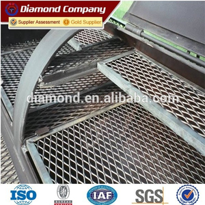Heavy Duty Expanded Metal Mesh Panel Trailer Mesh / expanded metal mesh