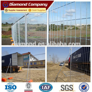 Designed for general public portable temporary fencing panels