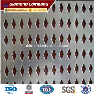 Galvanized Perforated Metal Mesh/Galvanized Perforated Mesh /Perforated Screen