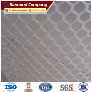 PP/HDPE Extruded Plastic Flat Mesh Chicken Wire Netting